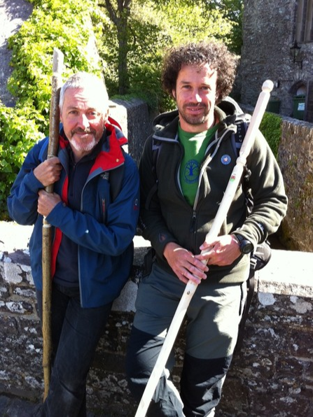 Walks and trekking with Planet Tree Adventure - Griff Rhys Jones and Dave Kelly-Patterson