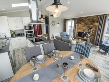 Country Lodge - Open Plan Area - Tingdene Lodges