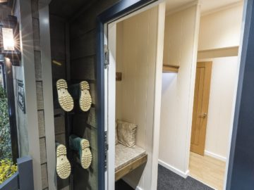 Country Lodge - Wellie Storage and Entrance Hall - Tingdene
