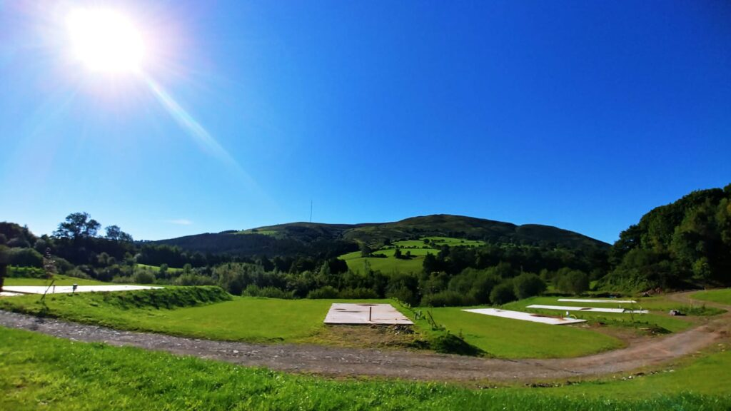 Views from Luxury Lodge Plots | Maes Mynan Park | Flintshire | North Wales
