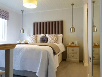 Master Bedroom Maderia Lodge by Aspire Leisure Homes-min
