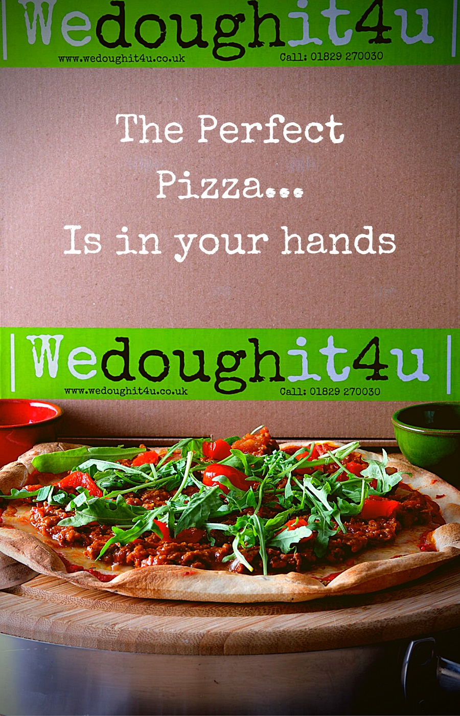 We Dough It 4 U Pizza Kits to the door
