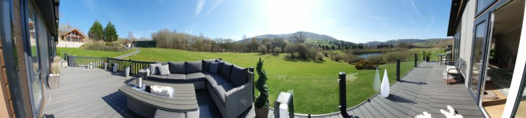 Large lodge plots and luxury lodges for sale   North Wales  North Wales