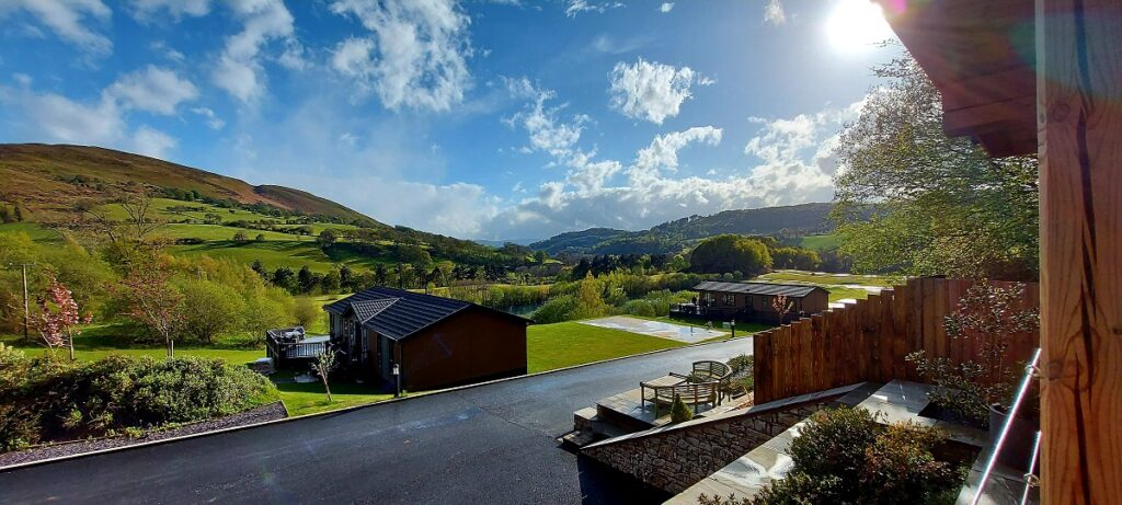 spacious lodge plots and lodges available   owners only holiday park   North Wales